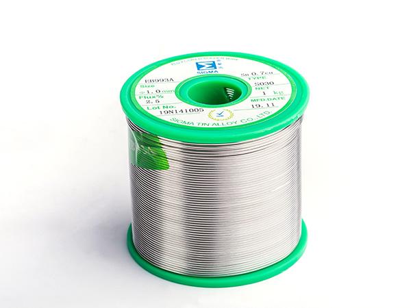 0.3银焊锡丝EB990,Sn99Ag0.3Cu0.7无铅焊锡丝
