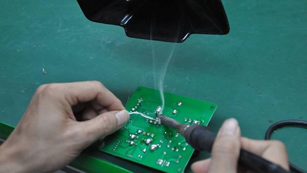 电源行业通孔回流焊锡膏解决方案